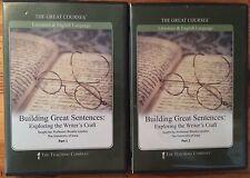 Building Great Sentences: Exploring the Writer's Craft, Parts 1 & 2 (DVD)