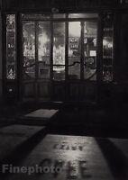 1927/72 Vintage 11x14 BISTRO QUARTIER Latin Restaurant Paris Photo ANDRE KERTESZ