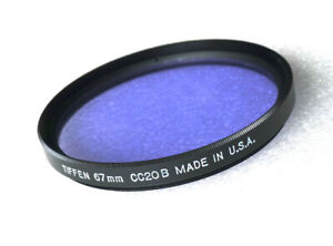 67mm Tiffen CC20B Filter - Color Correction - NEW