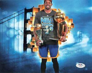 Andre Iguodala signed 8x10 photo PSA/DNA Golden State Warriors Autographed