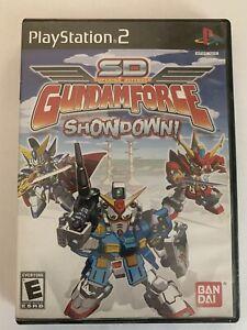 SD Gundam Force: Showdown! (PlayStation 2, PS2, 2004), CIB