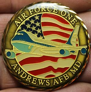 Air Force One Andrews air force Base Maryland President Of The USA 45.5mm Medal
