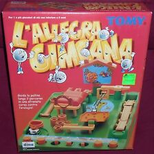 GIOCO TOMY VINTAGE TOY BOARD GAME-ALLEGRA GIMCANA tranellone,screwball scramble