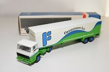 ± LION CAR DAF 2100 TRUCK WITH TRAILER FLEVOZOOM B.V. NEAR MINT BOXED