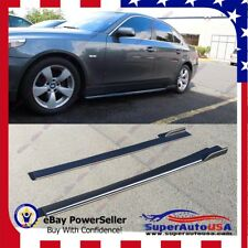 """83"""" Universal Bottom Line Style Flat Side Skirts Rockers Extensions fit BMW 5 M5"""