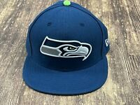 Seattle Seahawks Blue NFL Football Hat - New Era - 7 ¼
