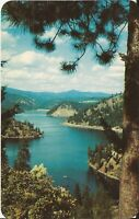 Lake Coeur d'Alene, IDAHO - Beauty Bay - 1969