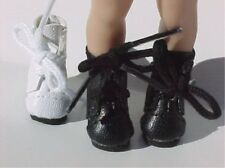 Black LaceUp Boots Doll Shoes For Helen Kish Riley Doll (Debs)