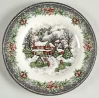 Royal Stafford CHRISTMAS VILLAGE Salad Plate 10553918