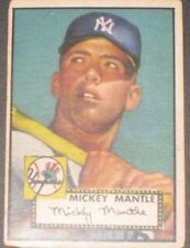 1952 Topps MICKEY MANTLE Baseball Card #311 Rookie N.Y. Yankees READ LISTING