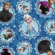 Disney Frozen Collection ~ Multi-Character Framed Fleece   ~  1/2 yard