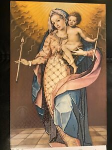 Decorative Ceramic Tile, Madonna and Child, 2019