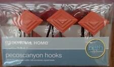 Essential Home Pecoscanyon Shower Hooks - Set of 12 - BRAND NEW IN BOX