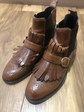 Russell Bromley Cuthbert Chelsea Boots Brown 36.5 3.5