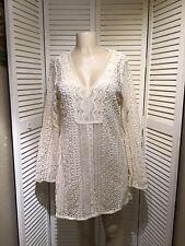 guess dress Size L Ivory Color