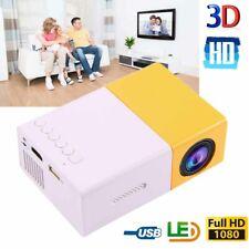 YG300 Mini Portable Multimedia LED Projector HD 1080P Home Theater Cinema Hot