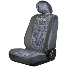 Huk Fishing Freshwater Gray & Green Universal Seat Cover, Car Truck Auto