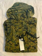 DIGITAL CAMOUFLAGE PARKA WATERPROOF JACKET MENS ML NAVY CAMOUFLAGE COAT GREEN