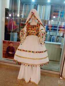 Afghan kuchi party traditional three Piece frock from Pakistan