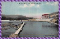 Carte postale - Neuville sur Ain - le barrage
