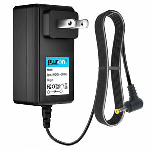 PwrON DC Adapter Charger for Polaroid PDV-0801A PDV-0813A DVD Player Power Cord