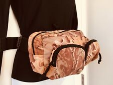 Advantage Camouflage Hunting Fanny Pack/Muff Belt Storage Compartment Bag zipper