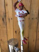 ST LOUIS CARDINALS Tap Handle ALBERT PUJOLS BASEBALL Beer Keg Kegerator MLB