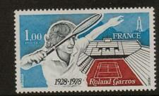 FRANCE SG2274 1978 50th ANNIV OF ROLAND GAROS TENNIS STADIUM MNH