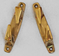 Fairleads, Rope guides, TWO (handed pair), 11mm Jaw,SOLID CAST BRASS   59A00B