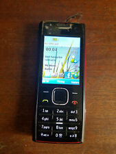 Nokia X Series X2-00 RM-618 Black on red Cell Phone