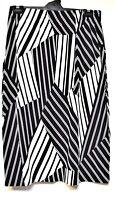 TS skirt TAKING SHAPE plus sz XL/ 24 All For Love Skirt stretch chic stripes NWT