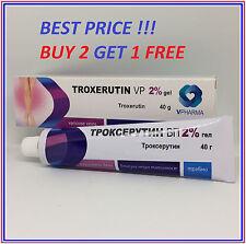 TOP Varicose Spider Thread Veins REMOVAL & TREATMENT TROXEVASIN Troxerutin gel2%