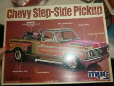 MPC 0441 CT3 1972 CHEVY STEPSIDE PICKUP TRUCK W/MOTORCYCLE 1/25 McM KIT NIB