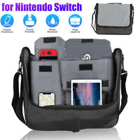 For Nintendo Switch Console Messenger Bag Storage Backpack Travel Carrying Case