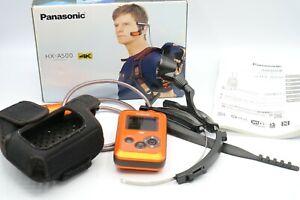 Panasonic Wearable Camera HX-A500 4K Hands