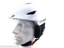 DIRTY DOG adjustable ECLIPSE Ski Snowboard Helmet WHITE small-medium-large