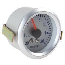Auto Car Turbo Boost Gauge Pressure Meter Turbocharged Meter 0~30in.Hg/0~20PSI