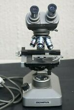 Olympus brightfield microscope