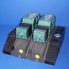 NUMATICS 150 PSIG-AIR MANIFOLD W/ 2 SOLENOID VALVES, I35SA415K
