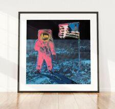 More details for andy warhol moonwalk print, moonwalker art print, wall art,