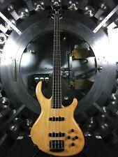 Tobias Natural 4 String Bass Guitar Korean Made