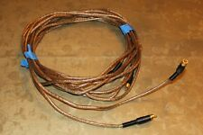 New listing Two Yba Cristal Cables Apature Ends 14 Ft 10* Long