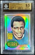 2001 Topps Chrome Walter Payton 1976 Rookie Reprints Refractor BGS 9.5 Gem Bears