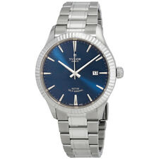 Tudor Style Blue Dial Automatic Mens Stainless Steel Watch 12710-0013