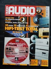 Audio 5/01, T + A TD 1510 R, PA 1520 R, Sony CDR W 33, accuphase DP 55 V, JBL ti 6 K