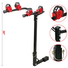 Bike Rack 2 Bicycle Hitch Mount Carrier Car Truck Auto 2 Bikes Mount Hanger Gift