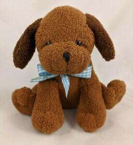 "Princess Soft Toys Brown Dog Plush Puppy 2005 5.5"" Stuffed Animal Toy"