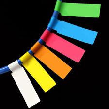 Network Cable Labels Sticker 900 Pieces 30 Sheets A4 P Shape 6 Colors Waterproof