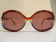 20fdeffb89 Vintage Art Optic Made in Italy Stripe RED Frame Color New Lenses Brown