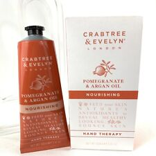 Crabtree & Evelyn Pomegranate & Argan Oil Nourishing Hand Therapy 3.45 oz New